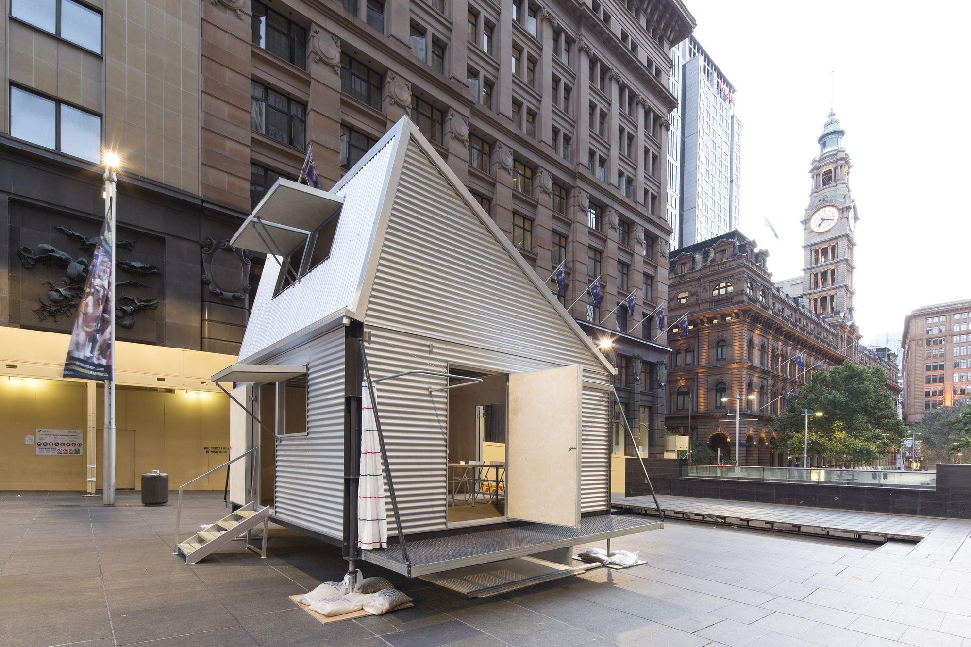 casas origami de madera refugios temporales para tsunami en japn origami