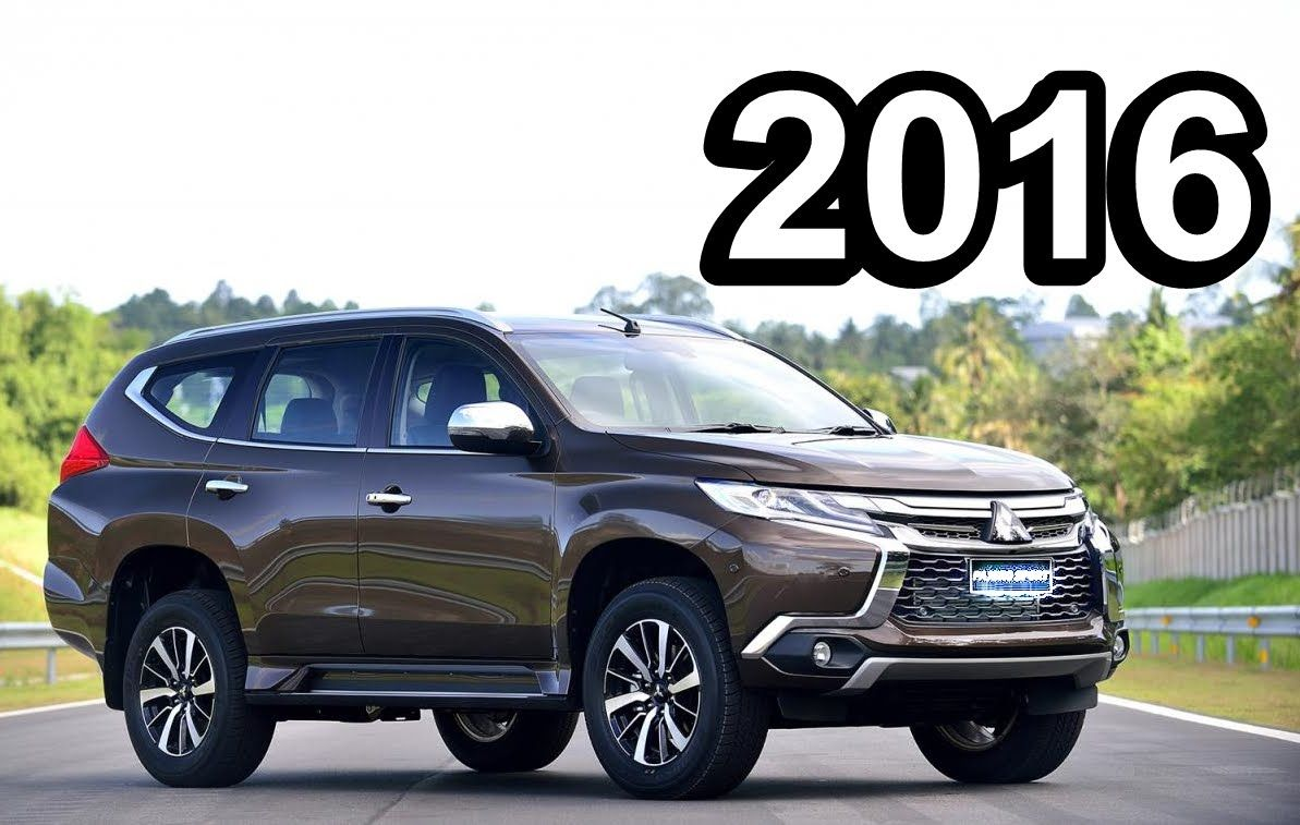2016 Mitsubishi Pajero Sport front quarter different