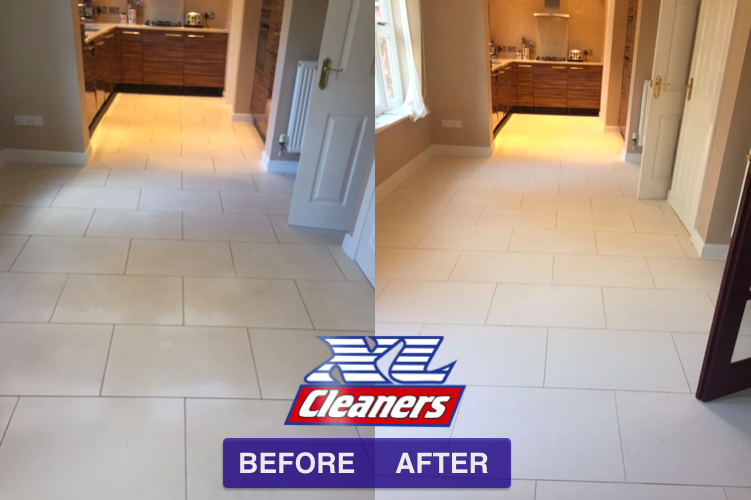 Marble floor cleaning and restoration in Liverpool Floor