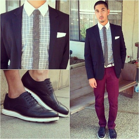 Vintage Woven, Cole Haan Fragment Lunargrand, H&M Slim Fit, H&M Chinos