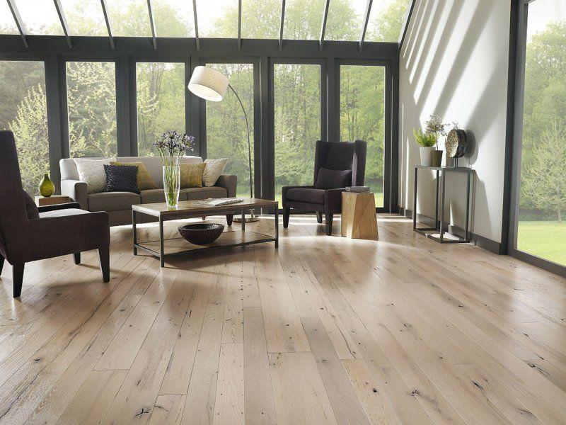 Bodenbelag aus Holz in eleganter, heller Farbe | Raumgestaltung ...