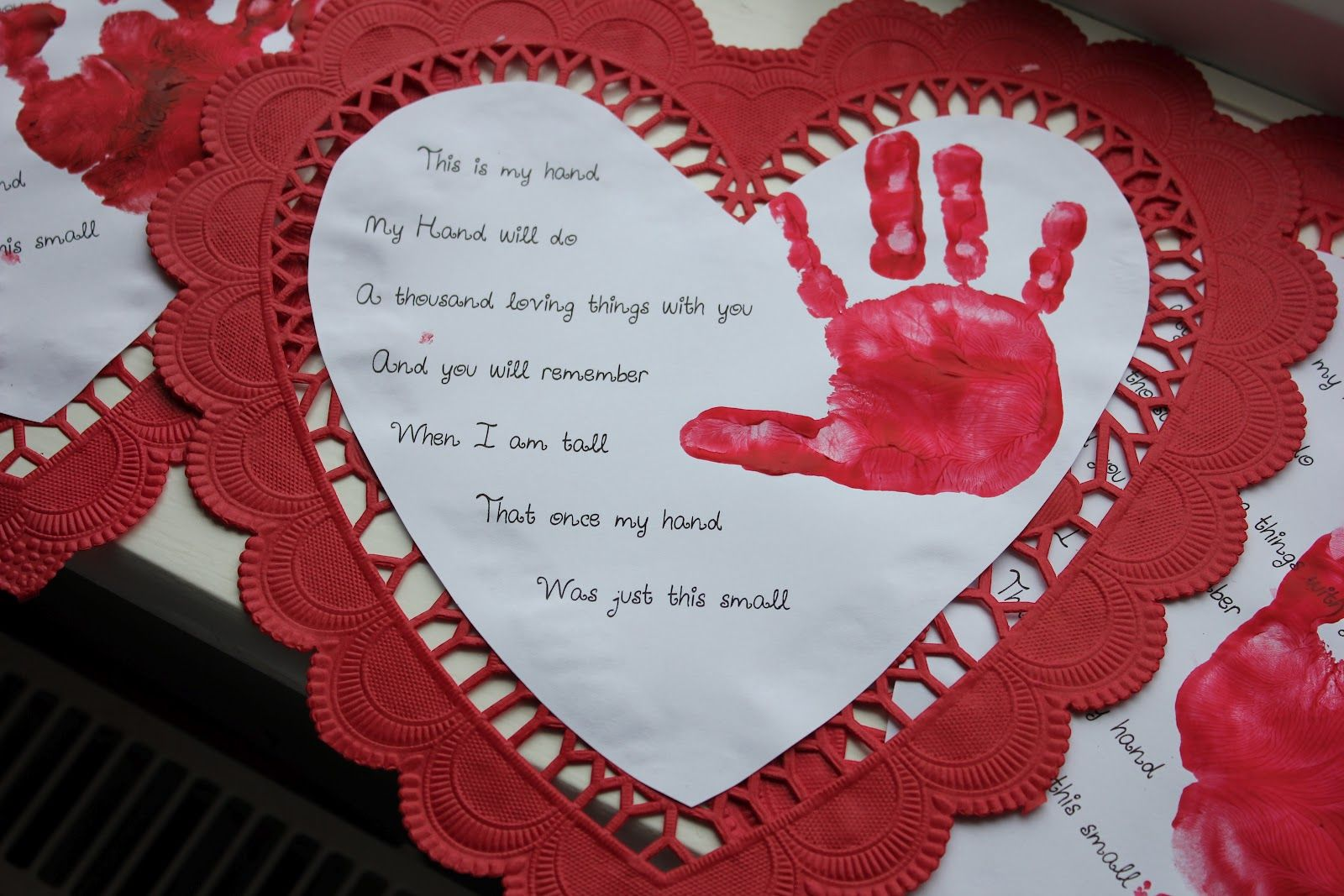 Poems For Foot And Hand Prints For Mothers