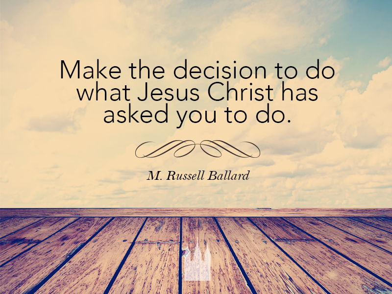Choose the right. #lds #mormon #quotes