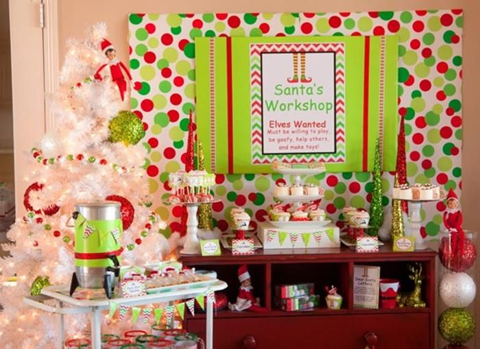 Santau0027s Little Helpers Christmas Party with Such Cute Ideas via Karau0027s Party Ideas | KarasPartyIdeas.  sc 1 st  Pinterest & Santau0027s Little Helpers Christmas Party with Such Cute Ideas via ...