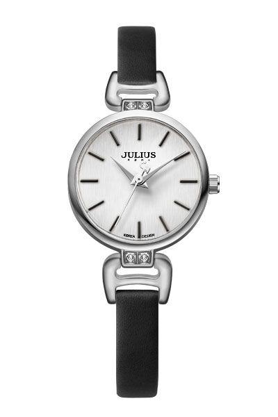 Julius Watch JA-925A Fashion Watch Women`s Leather Strap Watch