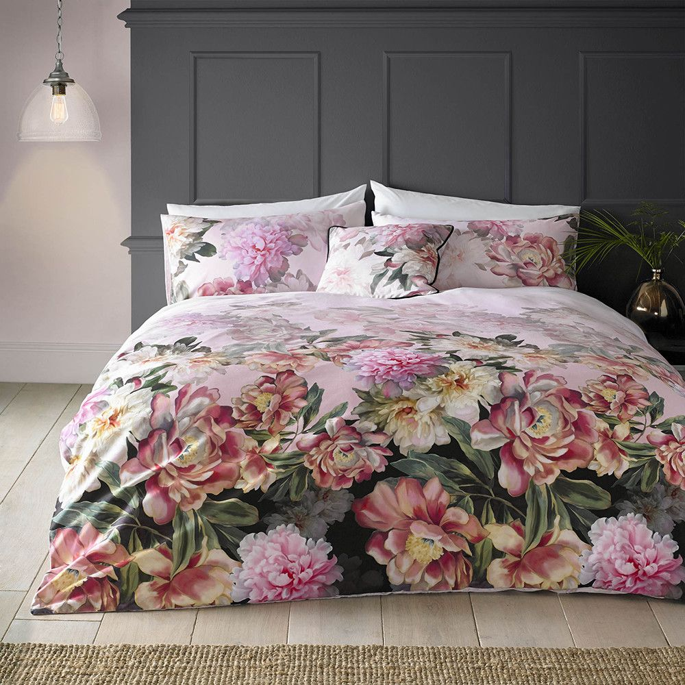 Painted Posie Bed Linen Ted Baker Bedding Pink Bedding Bed