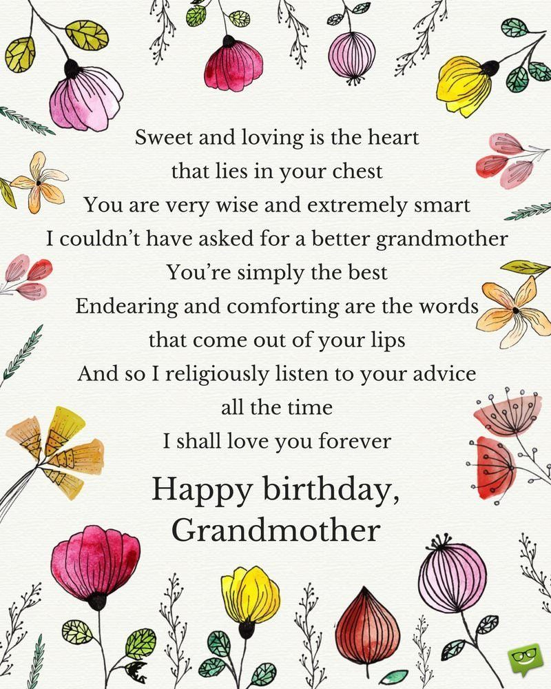 happy birthday wishes for grandmother best of grandmother birthday