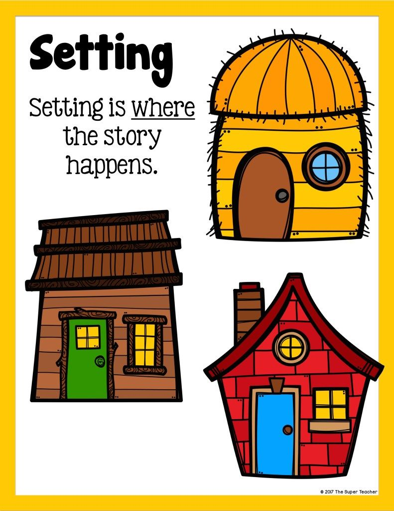 Simple Story Elements Made Practical And Fun Story Elements Kindergarten Three Little Pigs Story Three Little Pigs [ 1024 x 791 Pixel ]