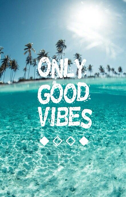 Beach Ocean Quotes Goodvibes Good Vibes Wallpaper Wallpaper
