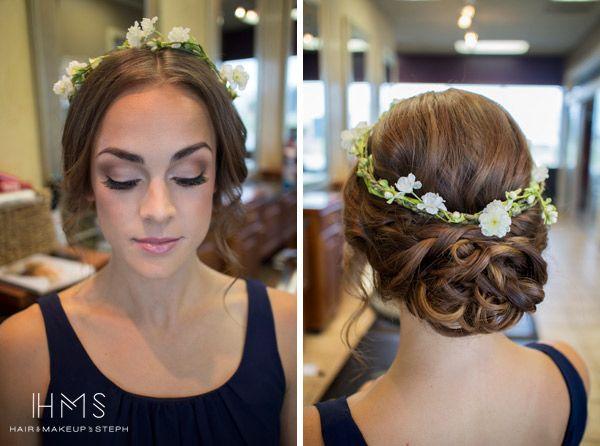 Behind The Chair X Haar Styling Frisur Hochzeit Hochzeitsfrisur Blumen