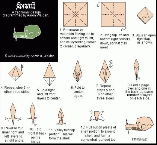 Учимся делать загадочных, но не опасных пауков оригами