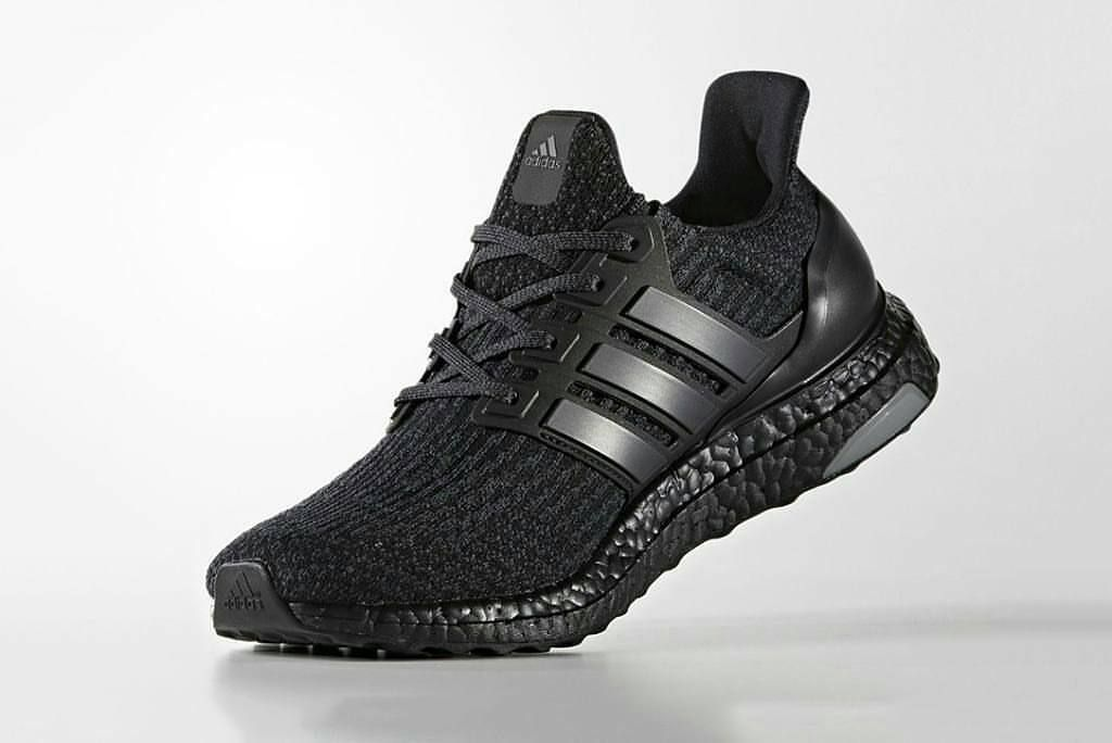 Adidas Ultraboost 3 0 Full Black Premium Quality Size 39 44 Rp