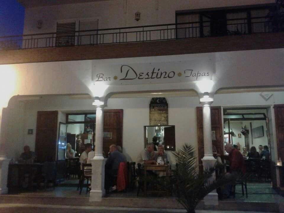 Heerlijke tapas bij Destino