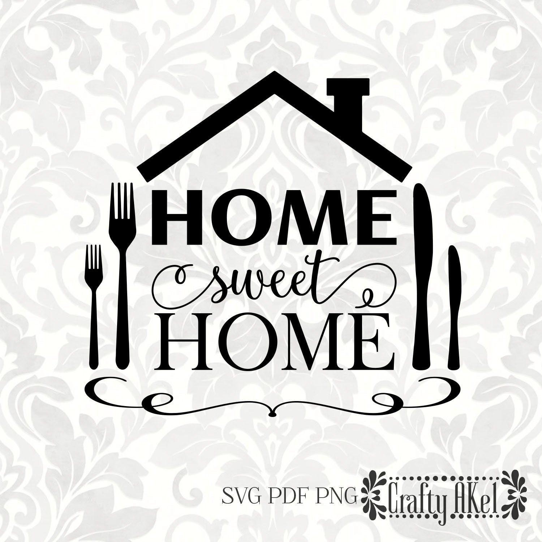 Home Sweet Home Svg Pdf Digital File Vector Graphic Etsy Svg Friends Like Family Digital