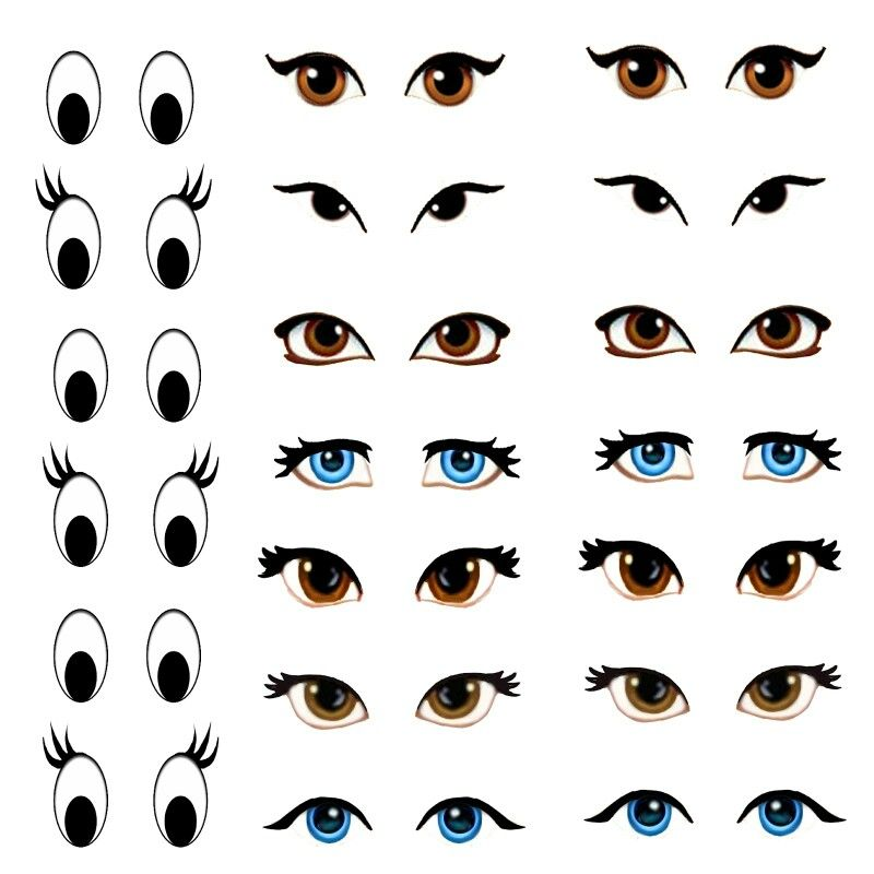 It is a graphic of Légend Free Printable Eyes for Crafts