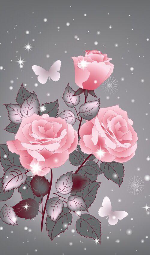 Http Weheartit Com Entry 215312834 Flower Wallpaper Cellphone Wallpaper Butterfly Wallpaper