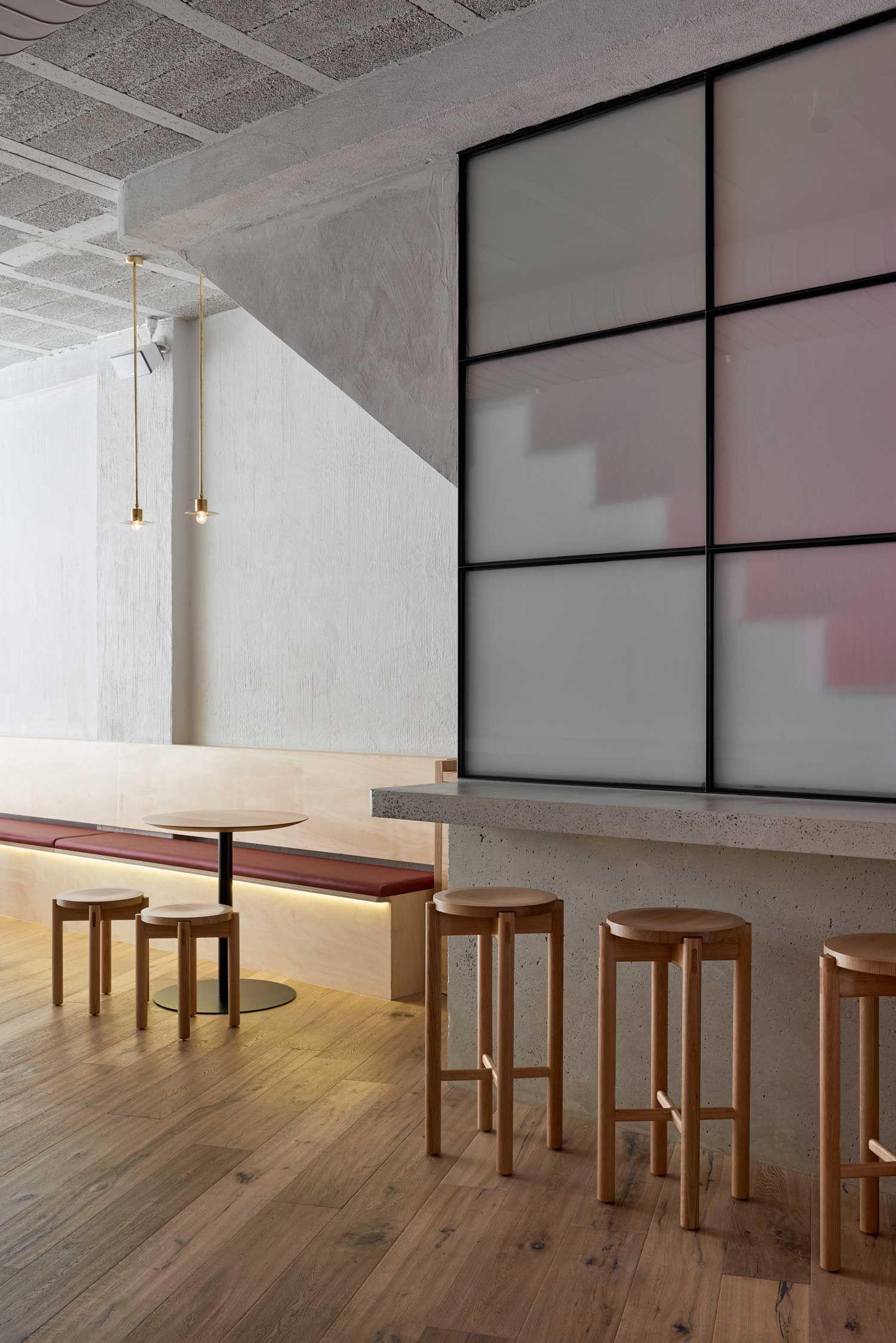 Yukie Snack Bar in Melbourne by P-E-K STUDIO.