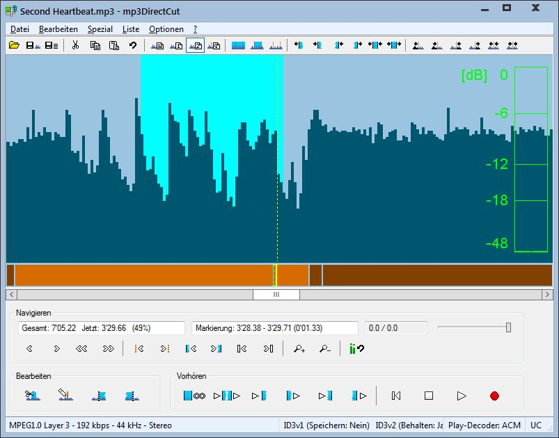 mp3DirectCut 222 Deutsch MP3 schneiden mp3DirectCut ist eine - foto freeware deutsch