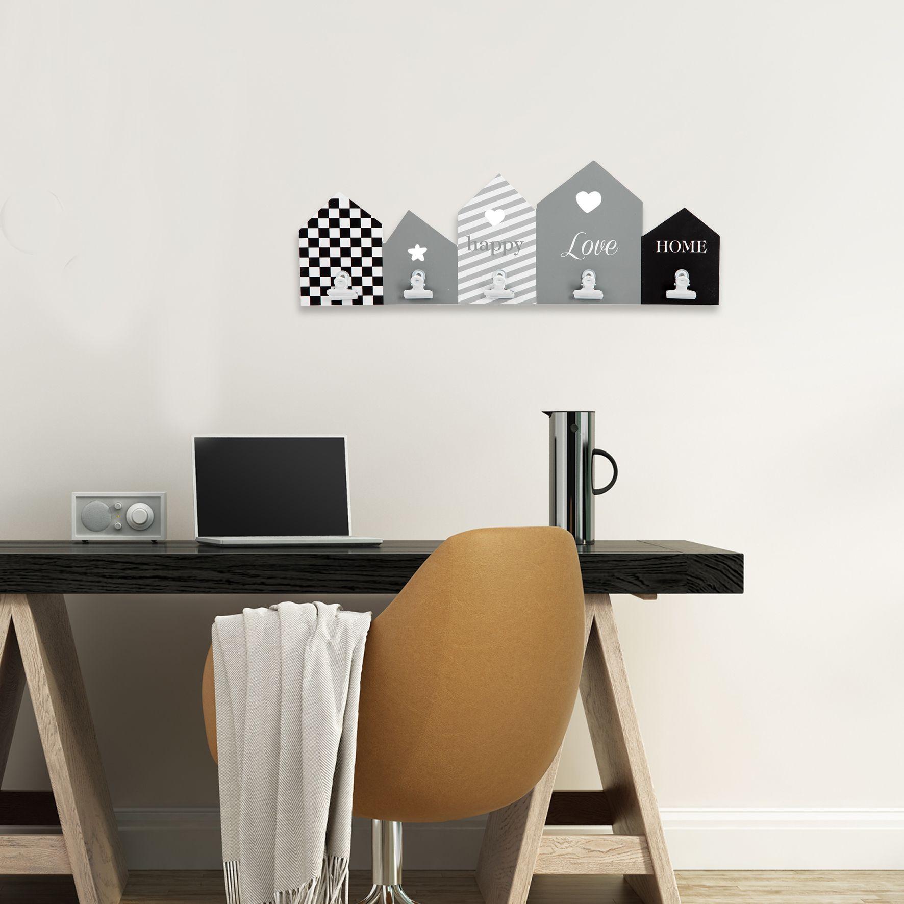 Pittura Shabby Leroy Merlin cornice multifoto town nero 5 foto | idee per decorare la