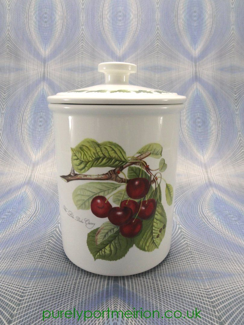 Airtight Cookie Jar Portmeirion Pomona Vintage Airtight Storage  Cookie Jar