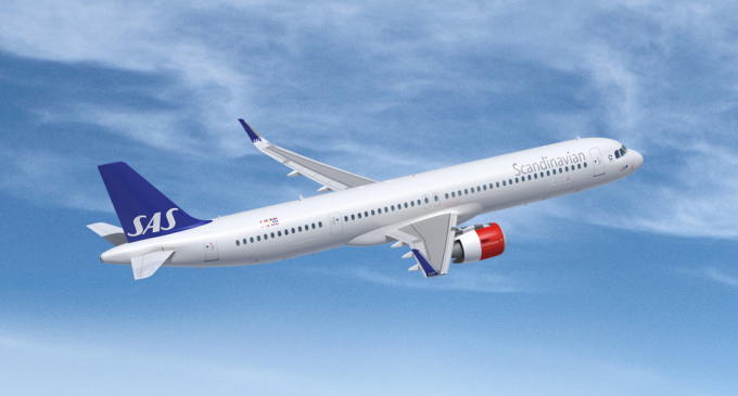 Sas Signs Lease For Three Airbus A321lrs Airways Magazine In 2020 Airbus Sas Lease