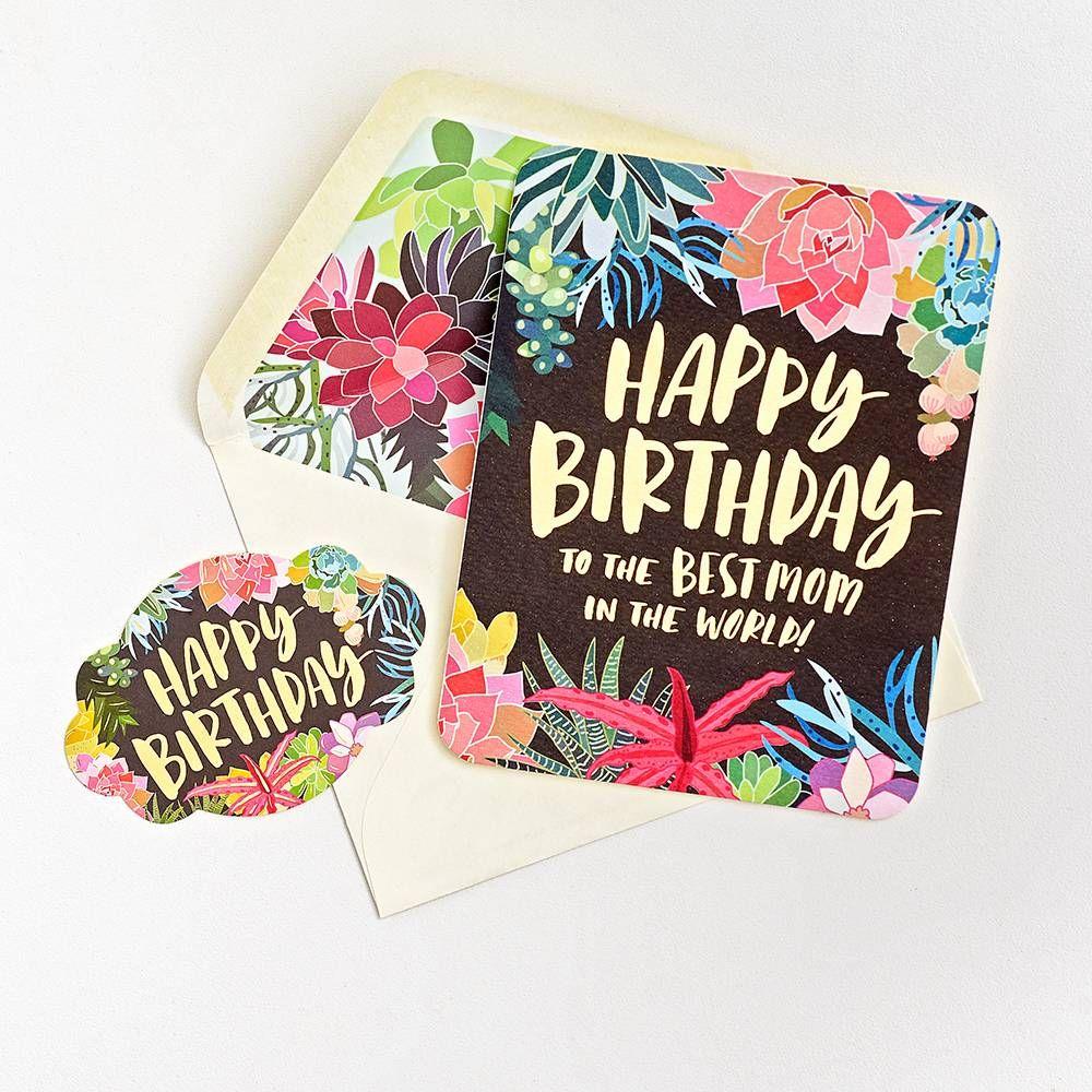 Best Mom Birthday Card Birthday cards for mom, Birthday
