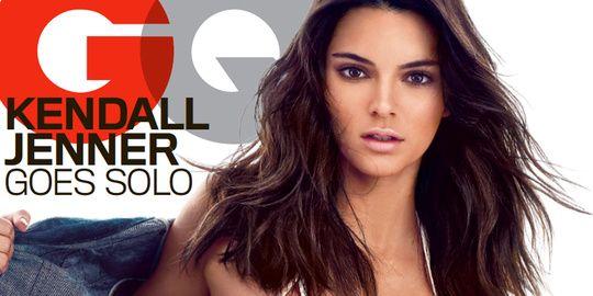 Kendall Jenner sexy en couverture de GQ