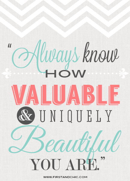 You Are Beautiful Quotes Custom Inspirational Quote For Women Always Know How Valuable And Uniquely
