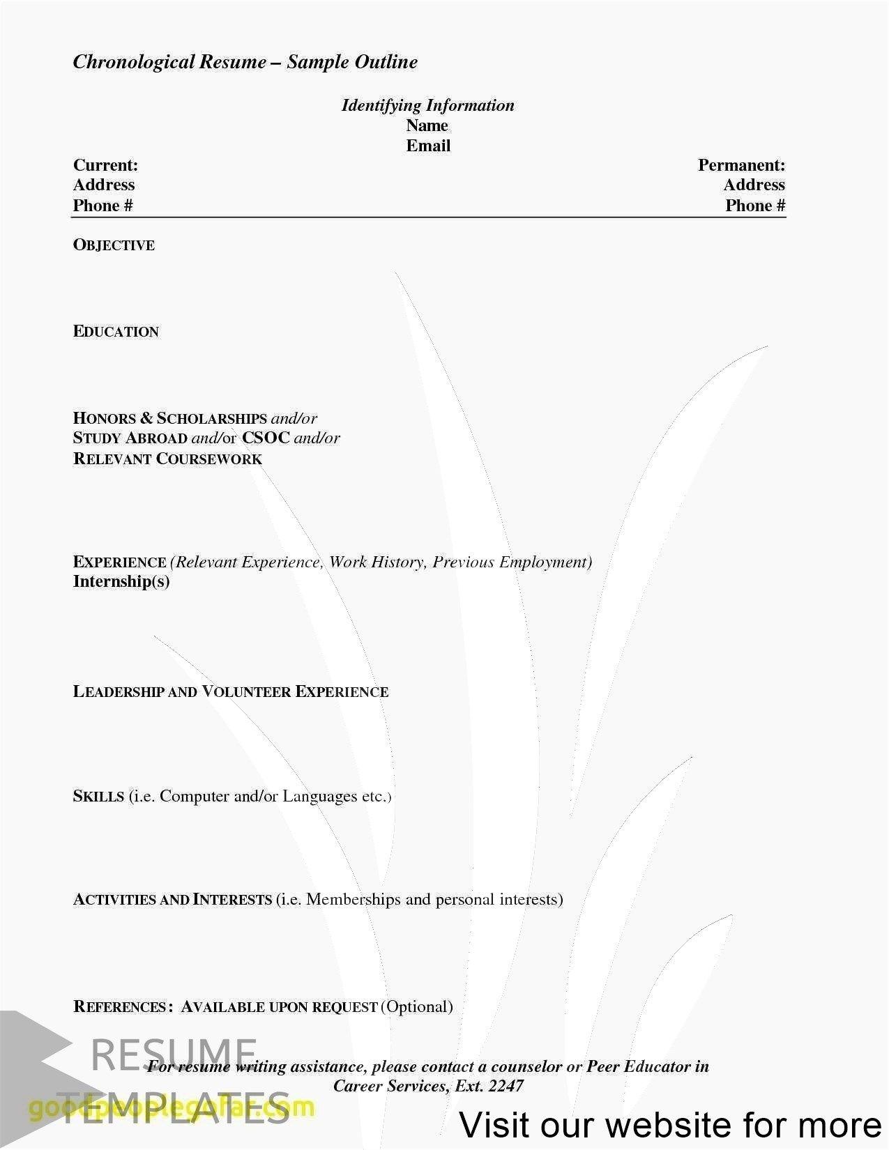 resume format wordpad Free Best in 2020 Job resume