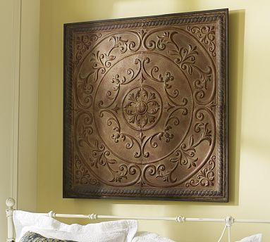 Embossed Tiles Wall Decor Inexpensive Art Ideas  Ceiling Ceiling Tiles And Barn