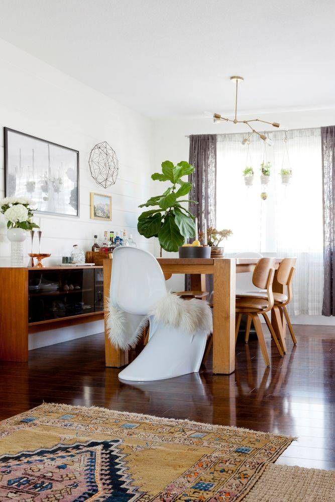 Interior designer natalie meyers boho chic home with