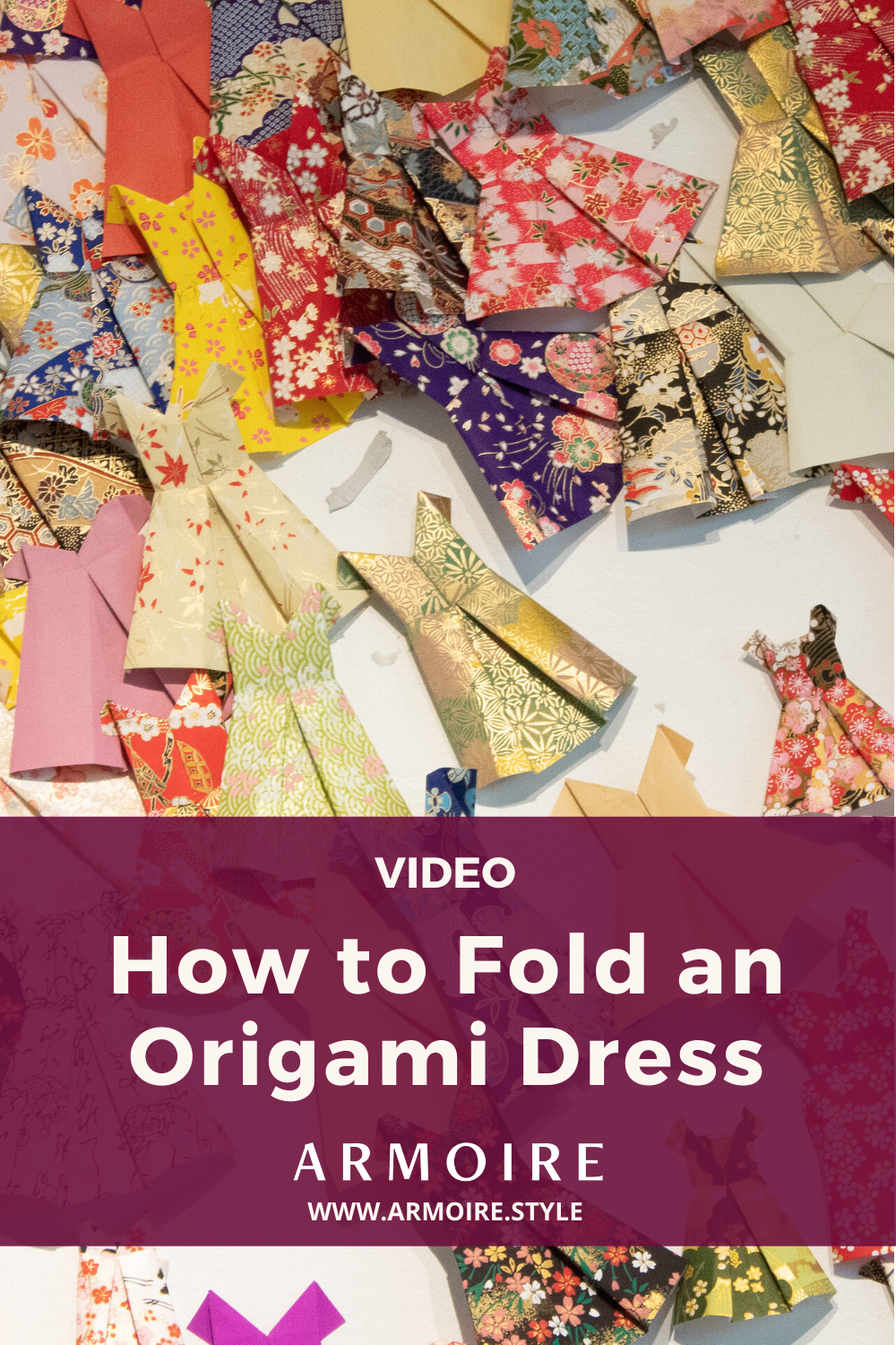 Photo of How to Fold an Origami Dress by Armoire
