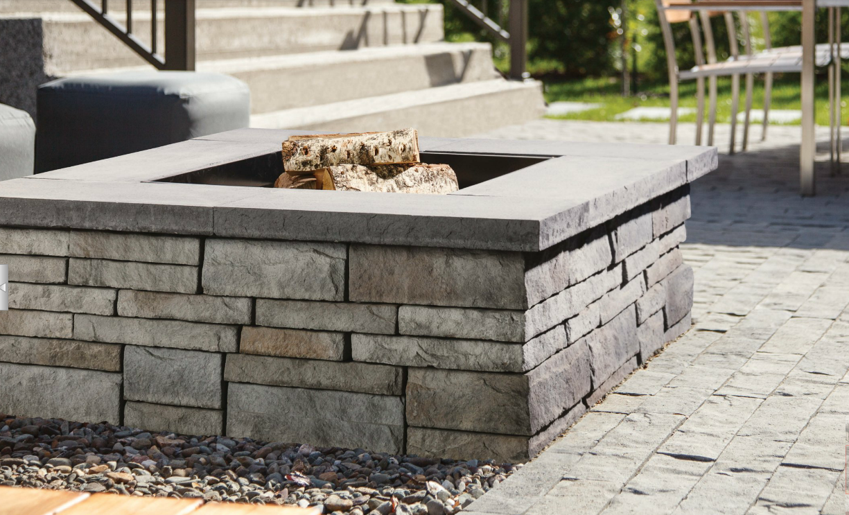 Techo Bloc Prescott Square Fire Pit My Outdoors Pinterest
