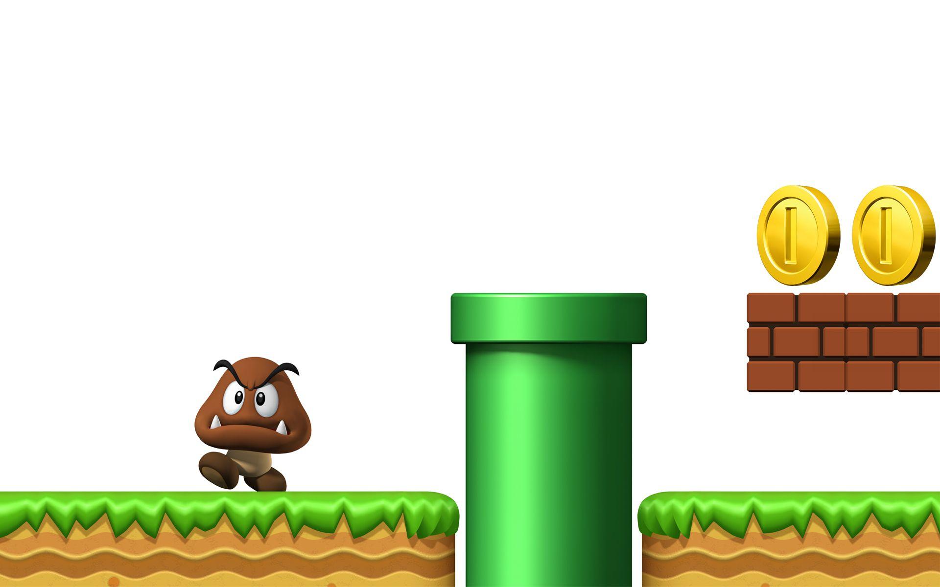 Super Mario Bros Wallpaper Hd Free Pc Wallpaper New Game Photos