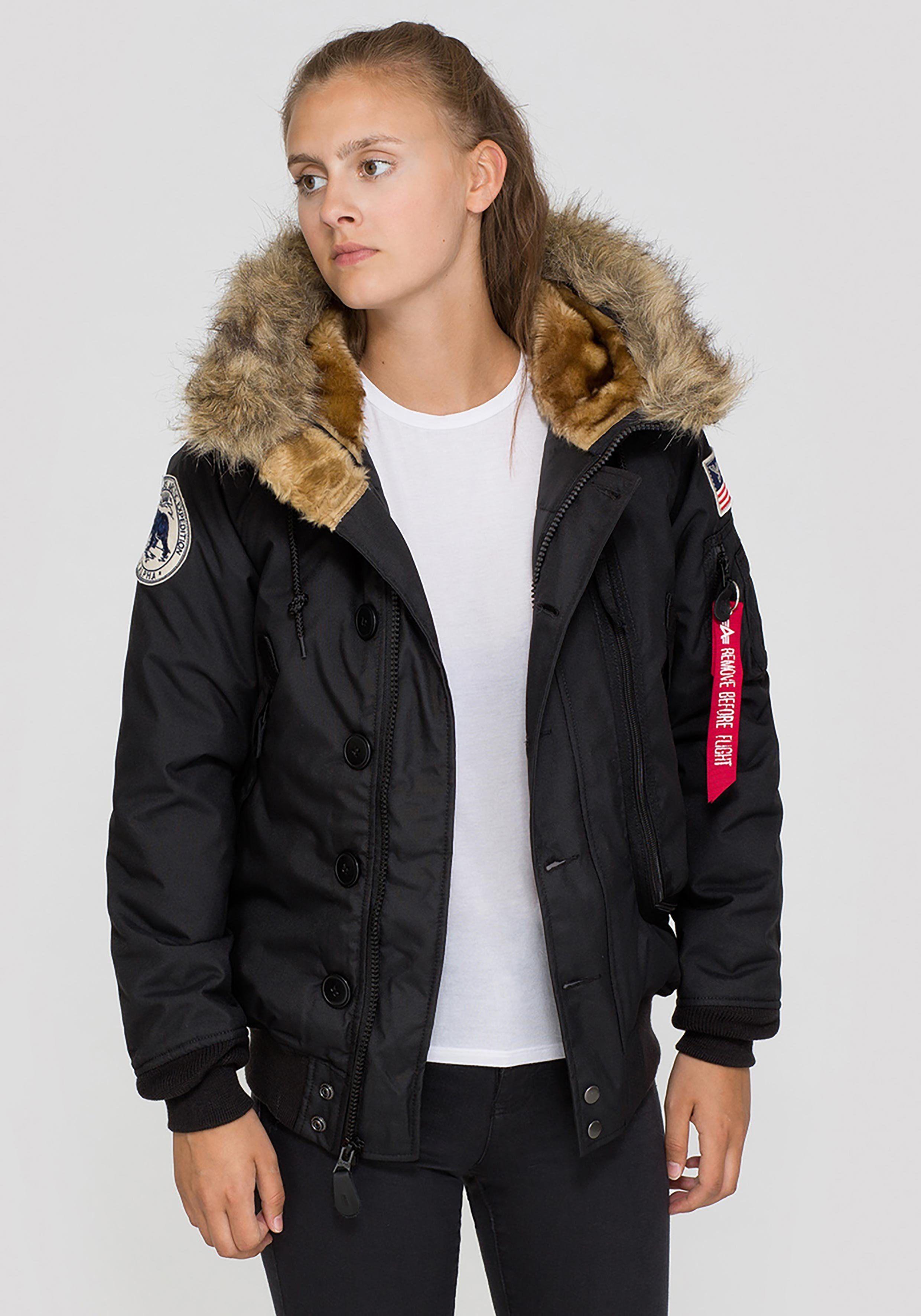 Alpha Industries Damen POLAR Wintermantel 100% Nylon