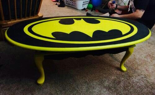 Batman Coffee Table Made Special For My Granddaughter