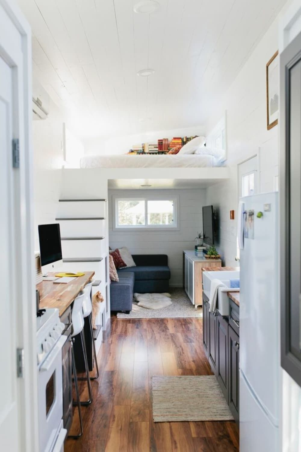 These Move In Ready Tiny Houses Have Some Surprisingly Luxe Features Tiny House Interior Design Tiny House Interior Modern Tiny House