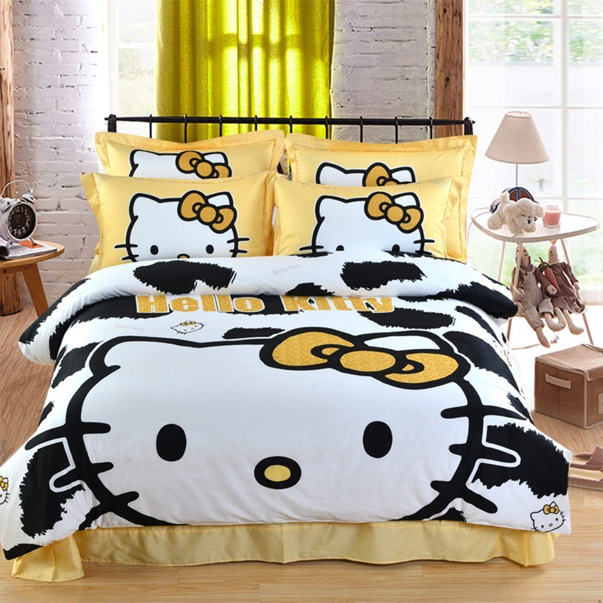 10 Best Hello Kitty Bedding Sets With Images Kids Bedding Sets