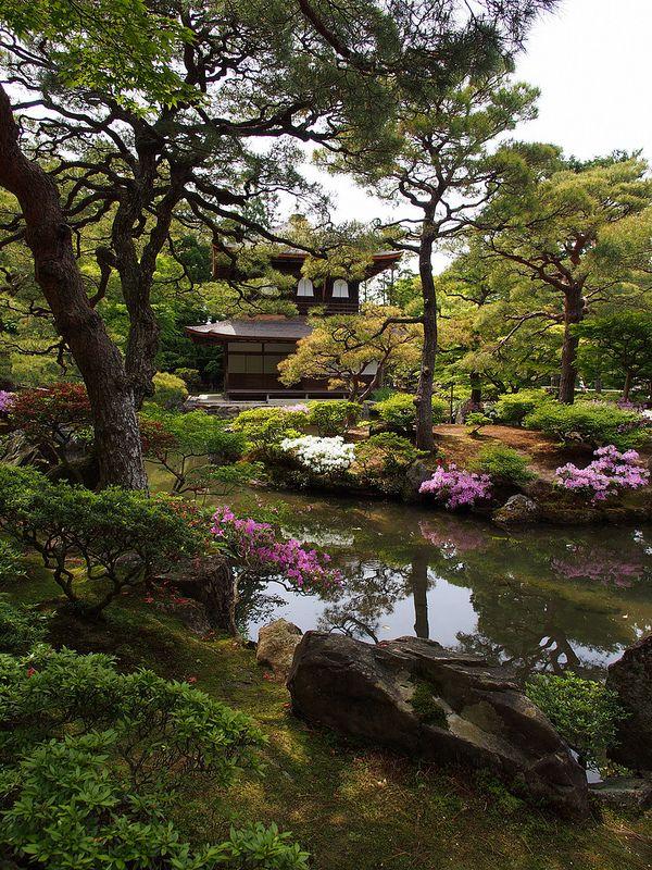 慈照寺 銀閣 Japon, Jardines y Paisajes - paisajes jardines