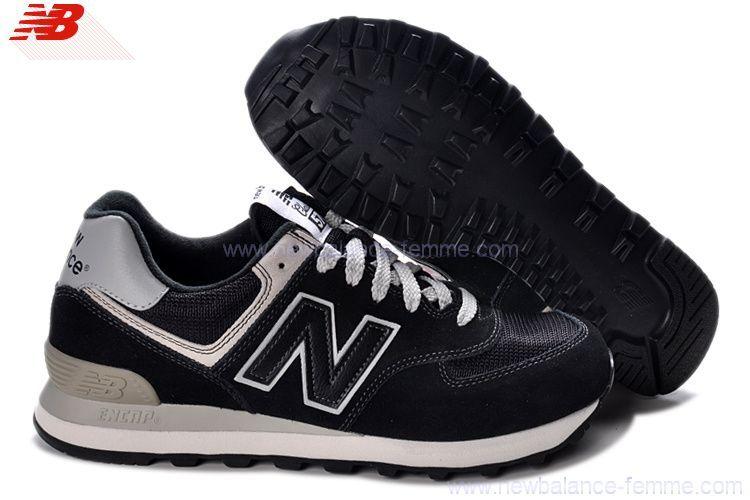 574 new balance femme noir