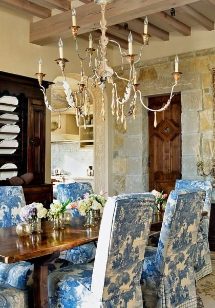 toile dining chairs