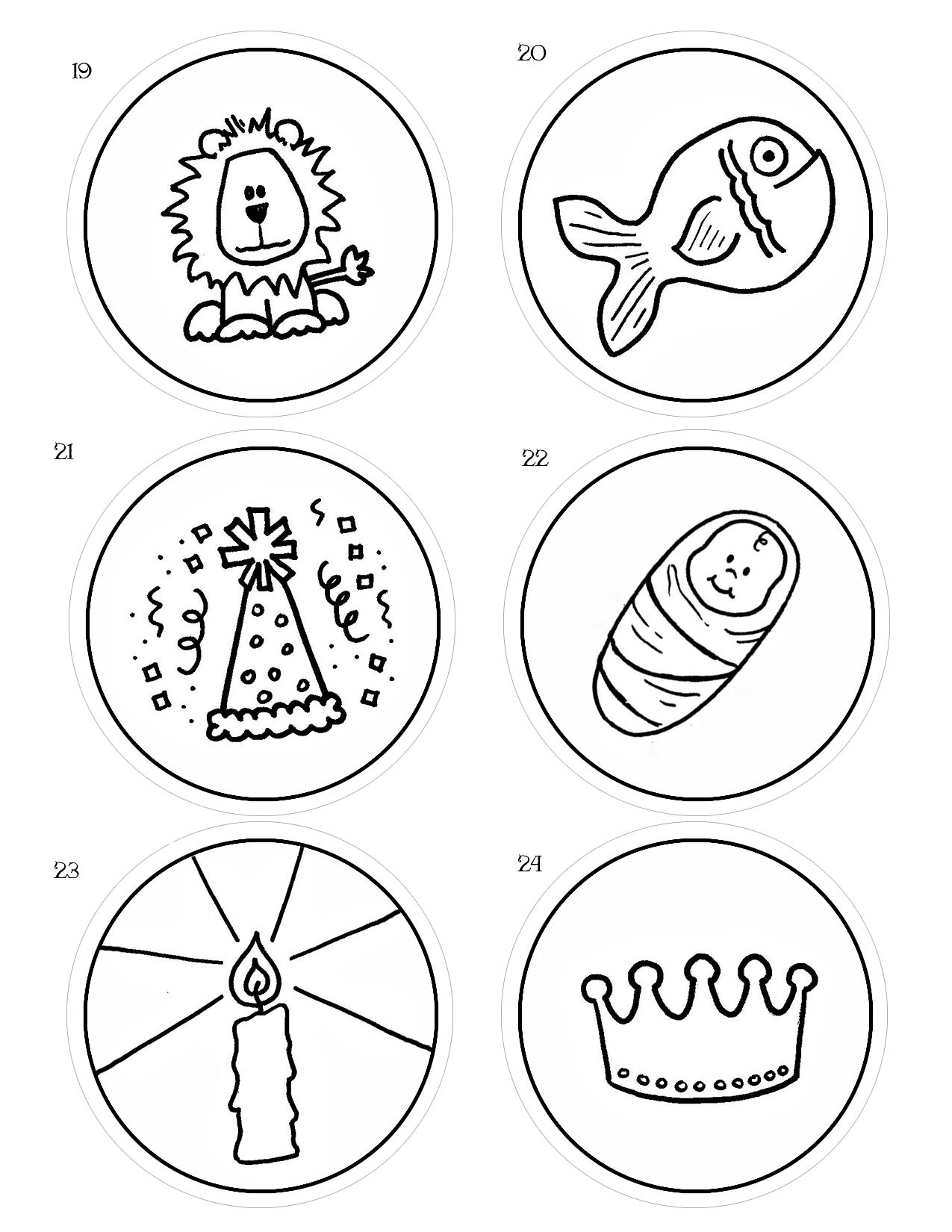 Easy Advent Idea With The Jesus Storybook Bible Jesse Tree Advent Jesse Tree Ornaments Advent Coloring