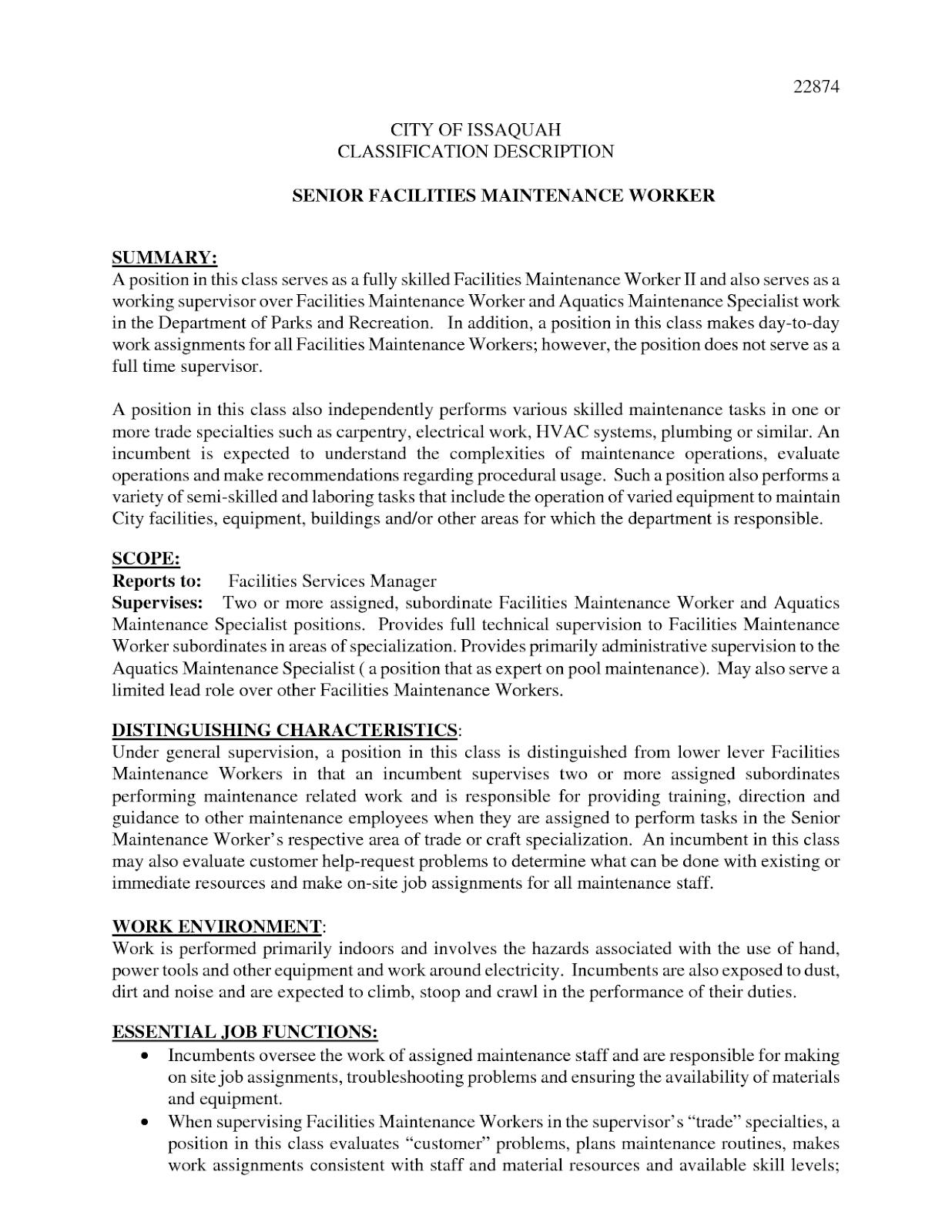 Maintenance Man Resume Sample 2019 Maintenance Man Resume Objective 2020 Maintenance Man Resume Objective Maintena Resume Objective Resume Best Resume Template