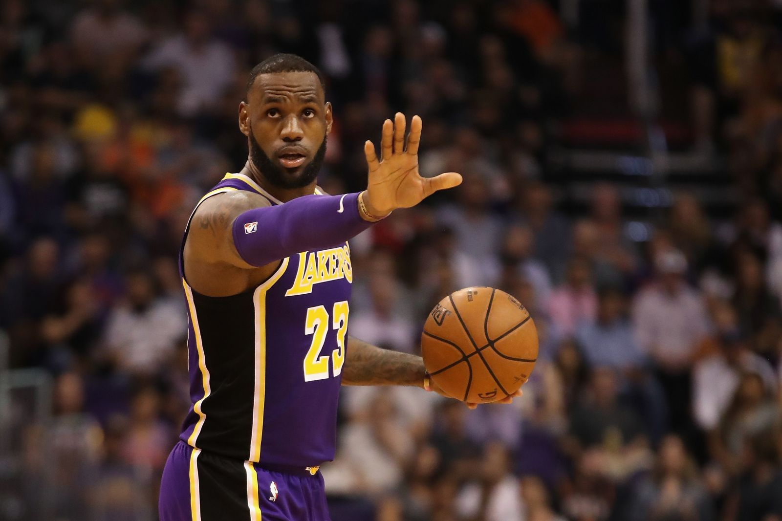 8e76602d420 LeBron James and the LA Lakers are off and running in La-La land ...