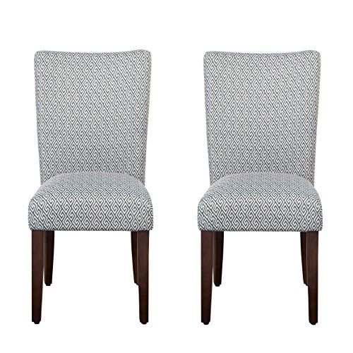 Best Homepop Parsons Classic Upholstered Accent Dining Chair 400 x 300