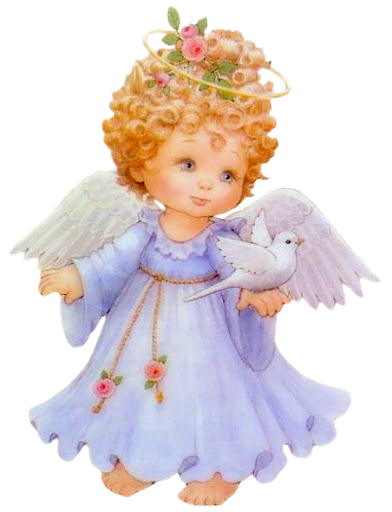 Cute Angel Free Clipart