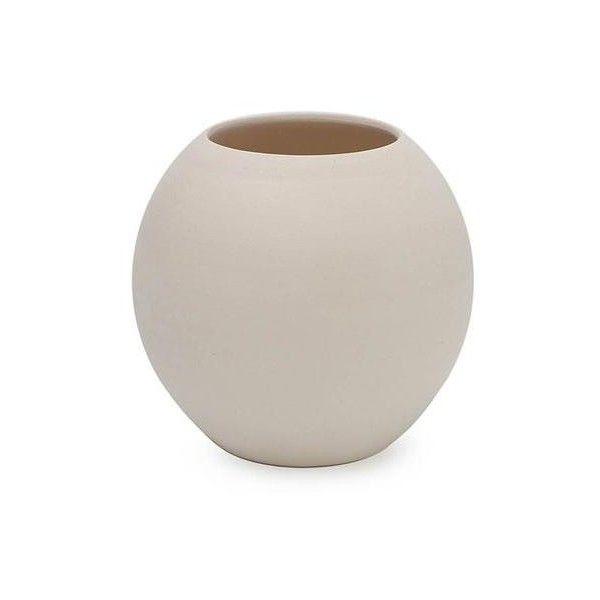 Novica Modern Ceramic White Vase From Brazil 3930 Inr Liked On