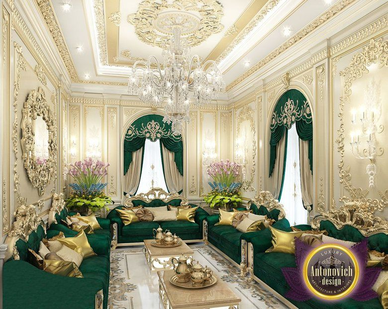 Arabic House Style By Luxury Antonovich Design Katrina Antonovich Luxury Furniture Design House Styles Elegant Interior Design