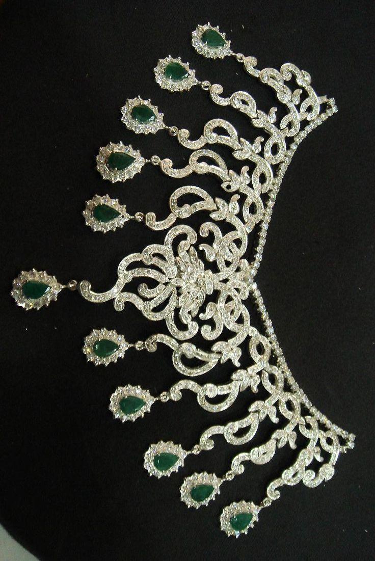 Nupcial E a beleza que bling moda jóias tradicionais