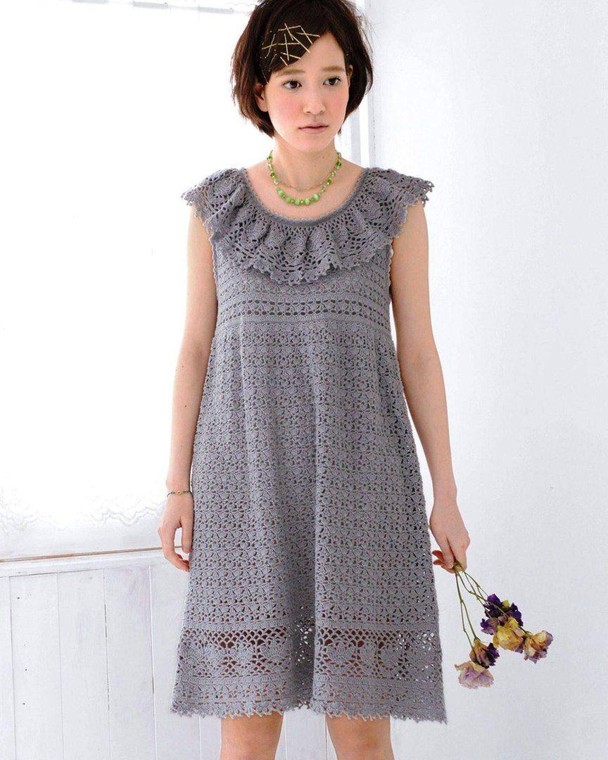 Вязаные платья от дизайнеров со схемами фото 410